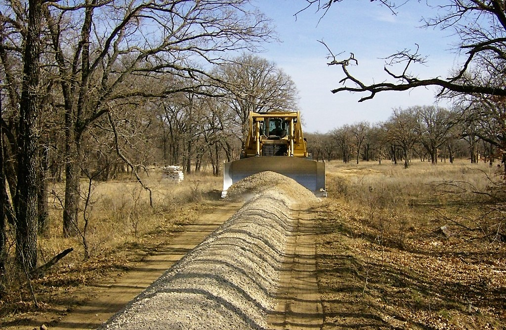 gravel road construction